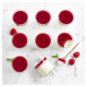 Waitrose 1 Raspberry Panna Cottas