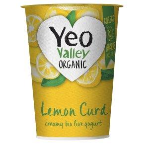 Yeo Valley organic lemon curd yogurt