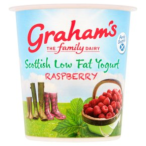 Graham's Scottish Low Fat Raspberry Yogurt