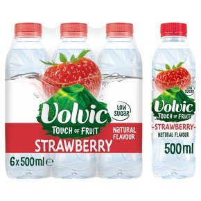 Volvic touch of strawberry flavour
