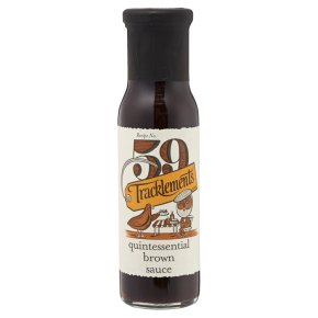 Tracklements fruity brown sauce