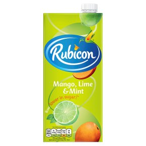 Rubicon Light & Fruity Mango, Lime & Mint