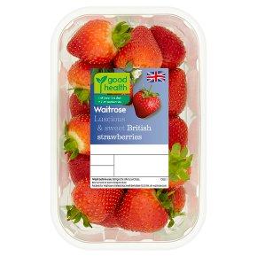 Waitrose sweet and juicy British strawberries