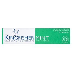Kingfisher mint natural toothpaste