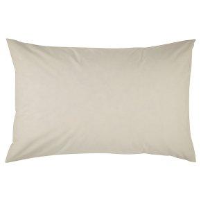Waitrose Home ivory Egyptian cotton pillowcase