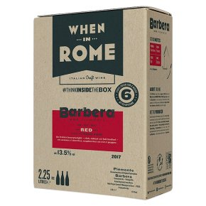 When in Rome Barbera Italy