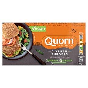 Quorn 2 Vegan Burgers