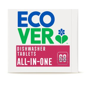 Ecover Dishwasher Tabs AiO 68s
