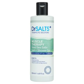 Dr Salts Bath+Shower Gel Muscle Therapy