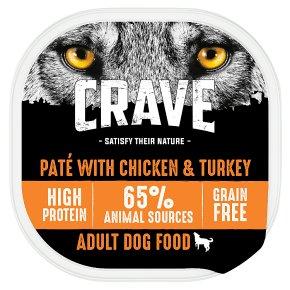 Crave Dog Food with Turkey & Chicken