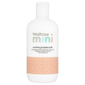 Waitose Mini Soothing Bubble Bath