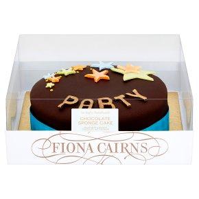 "Fiona Cairns Chocolate 7"" Sponge Cake"