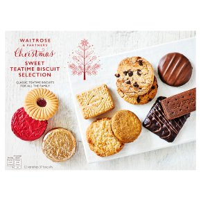 Waitrose Christmas sweet biscuit selection