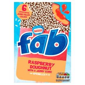 Fab Raspberry Doughnut Lollies