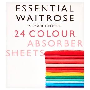 essential Waitrose colour absorber sheets