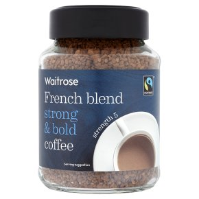 Waitrose french blend strong & bold coffee