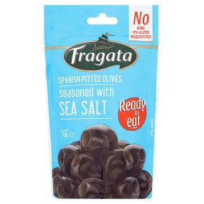 Fragata Pitted Olives with Sea Salt