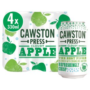Cawston Press Cloudy Apple with Sparkling Water