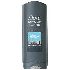 Dove Men+Care clean comfort body & face wash