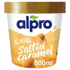 Alpro Almond Salted Caramel Ice Cream