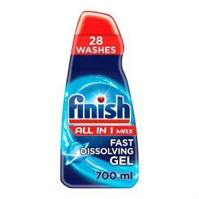 Finish All In 1 Max Fast Dissolving Gel Degreaser