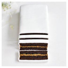 Chocolate Salted Caramel Wedding Cutting Bar