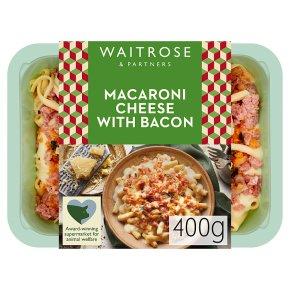 Waitrose Italian Macaroni Cheese with Bacon