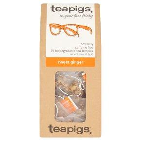 Teapigs Sweet Ginger 15 Tea Temples
