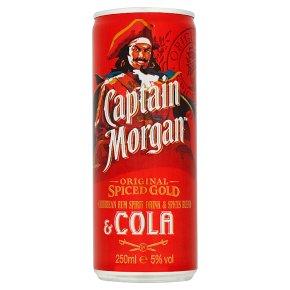 Captain Morgan's Spiced & Cola