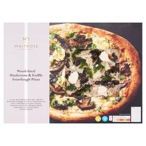 No.1 Mushroom & Truffle Sourdough Pizza