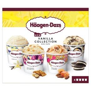 Haagen-Dazs Vanilla Collection Mini Cup Ice Cream