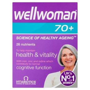 Wellwoman 70+ Tablets