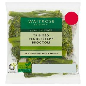 Waitrose trimmed tenderstem broccoli