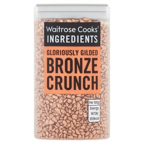 Waitrose Cooks' Homebaking bronze crunch