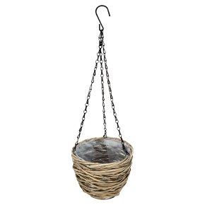 Waitrose Garden Wicker Hanging Basket