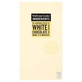 Waitrose Cook's Ingredients white chocolate