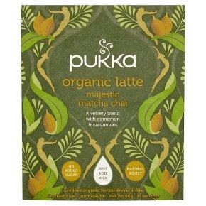 Pukka Organic Latte Majestic Matcha Chai 15 Servings