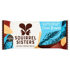 Squirrel Sisters Cacao Brownie Raw Energy Bar
