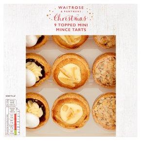 Waitrose Christmas Topped Mini Mince Tarts