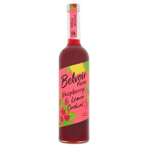 Belvoir Raspberry & Lemon Cordial