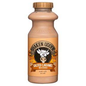 Shaken Udder Salted Caramel Milkshake
