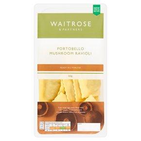 Waitrose fresh pasta portobello mushroom ravioli