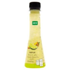 Waitrose Fresh Lime & Chilli Dressing