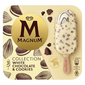 Magnum White Chocolate And Cookies