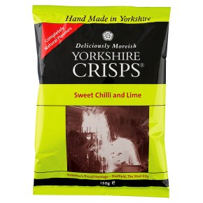 Yorkshire Crisps - sweet chilli & lime