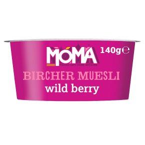 Moma bircher muesli wild berry