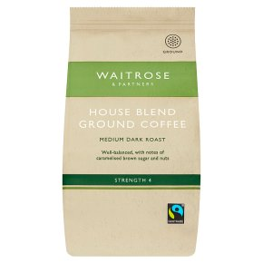 Waitrose Café House Blend Ground Coffee