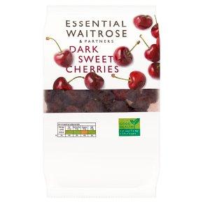 essential Dark Sweet Pitted Cherries