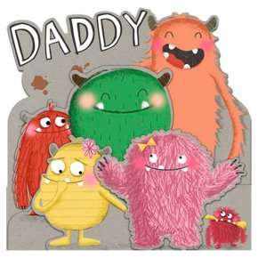Daddy Monster Father's Day Card