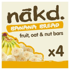 Nãkd Banana Bread Fruit, Oat & Nut Bar